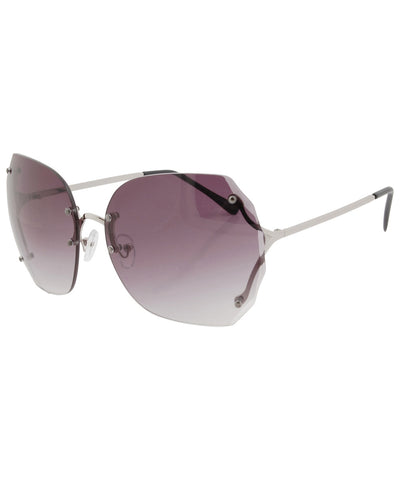 sweetness silver sunglasses