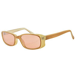 SWIZZLE Tan Square Sunglasses