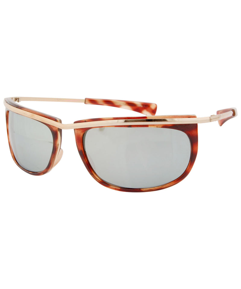 swizz tortoise gold sunglasses