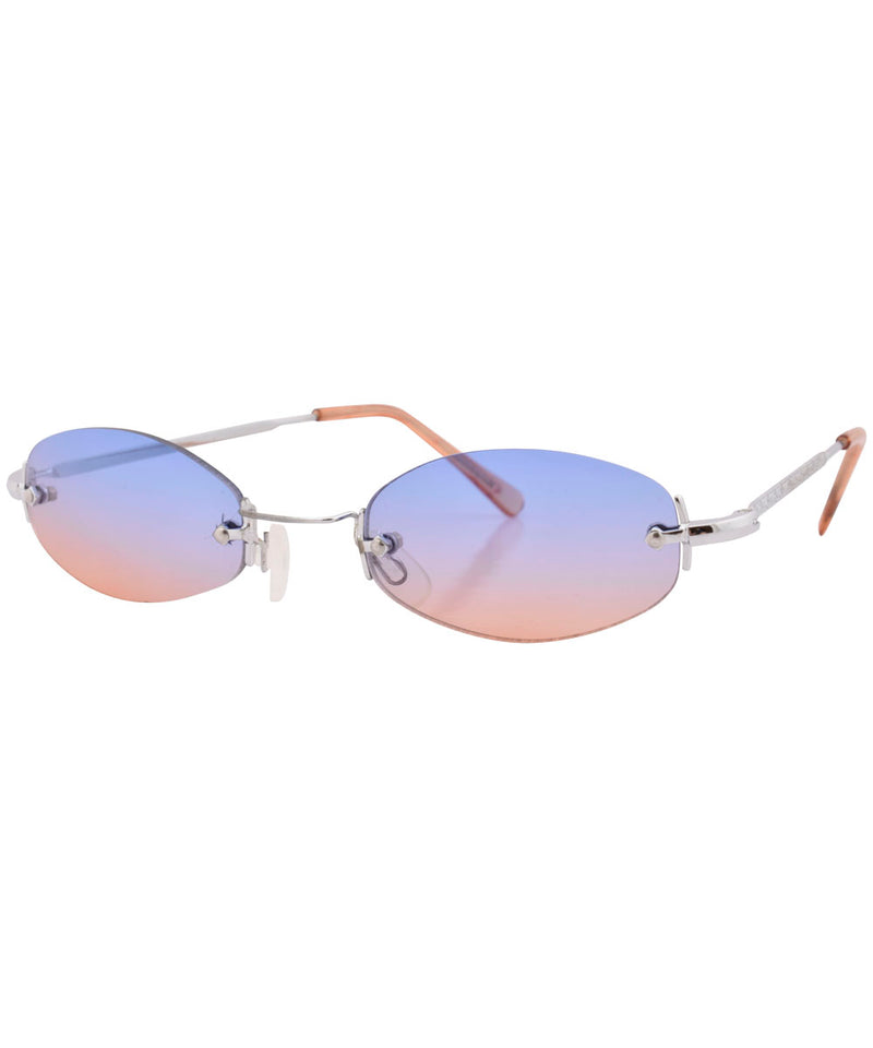 sylvian blue orange sunglasses