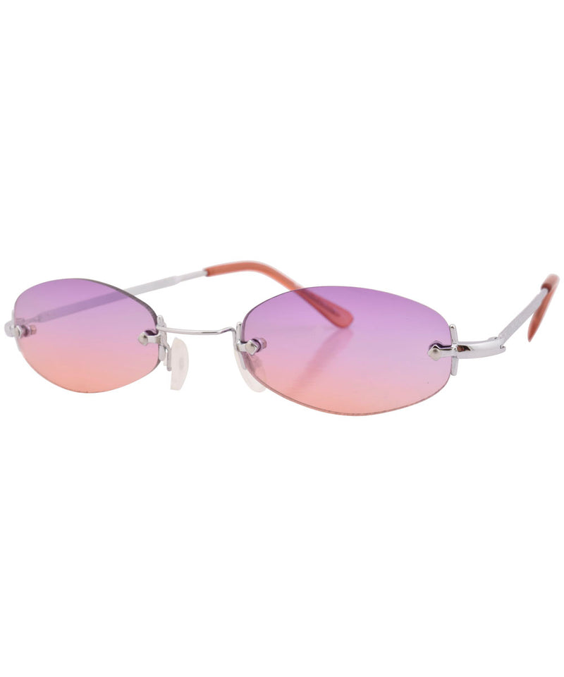 sylvian purple orange sunglasses