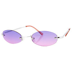 sylvian purple pink sunglasses