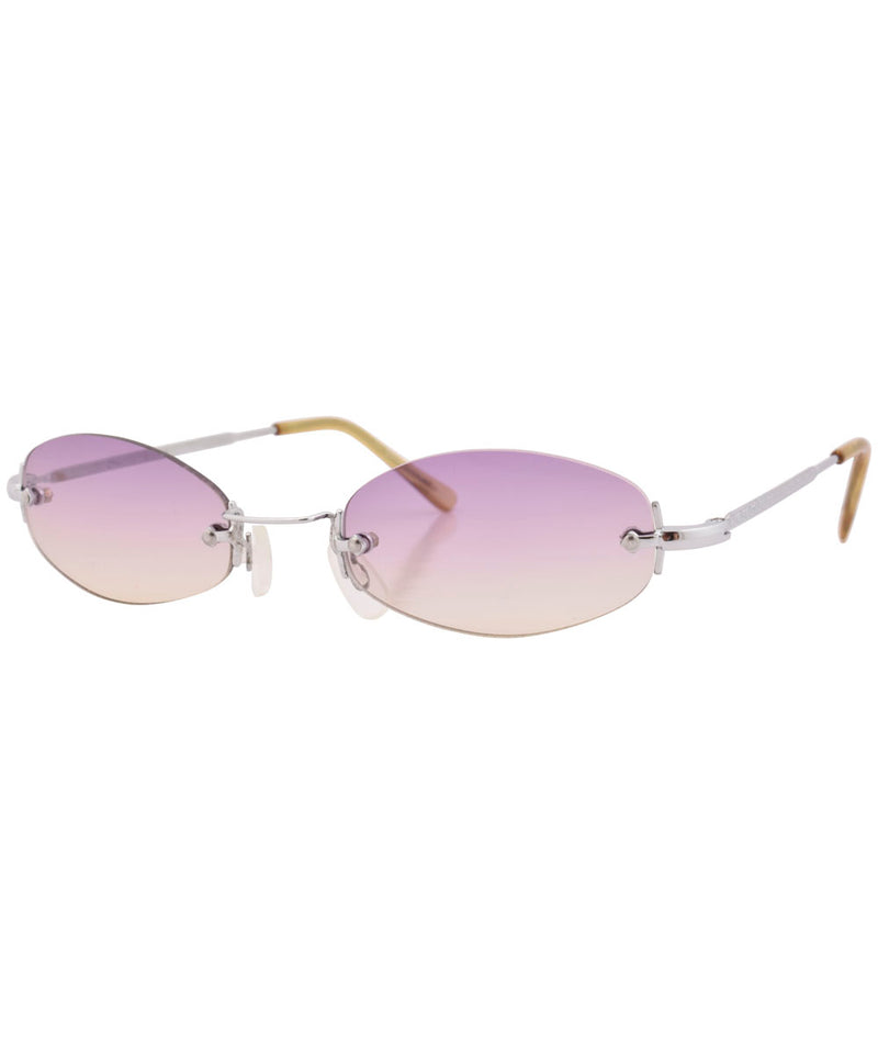 sylvian purple yellow sunglasses