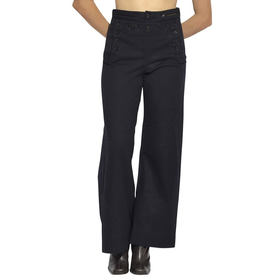 Sailor Button Bell Bottoms