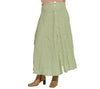 Sweet Pea Thin Pink Mesh Top & Olive Co. Light Green Skirt