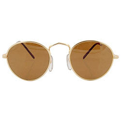 taft gold brown sunglasses