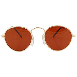 taft gold rust sunglasses