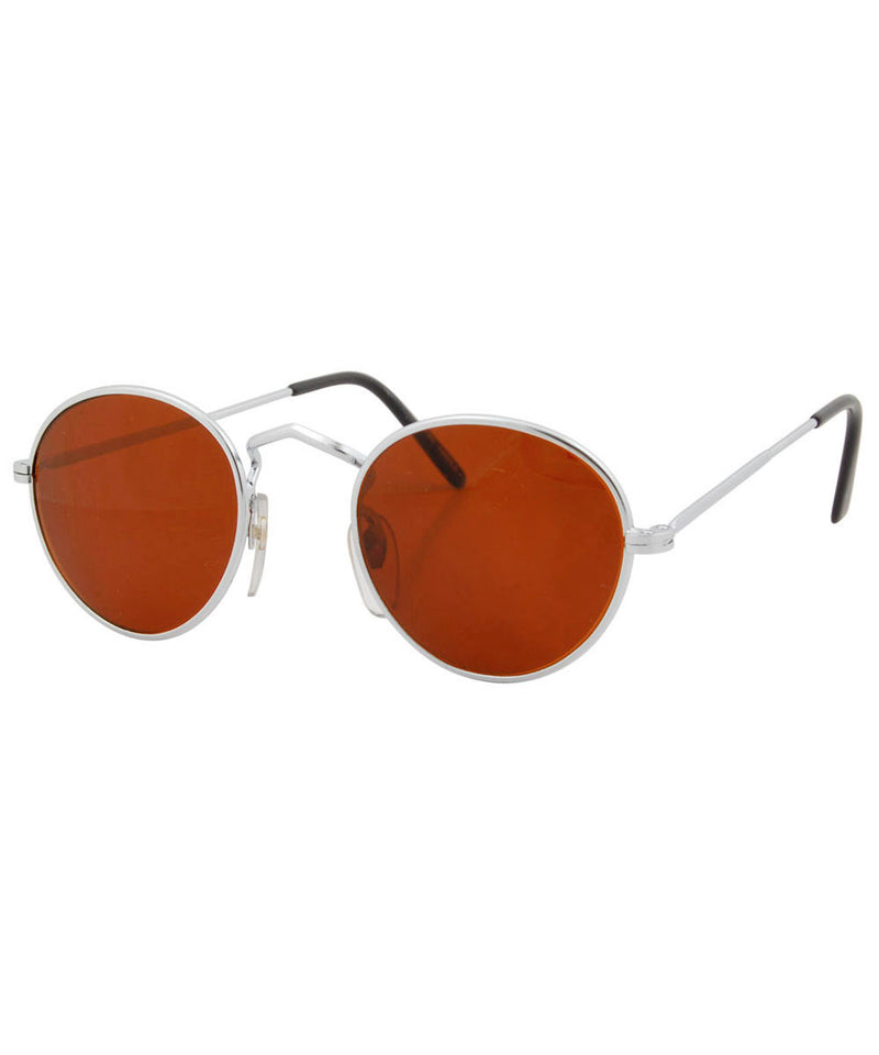 taft silver rust sunglasses