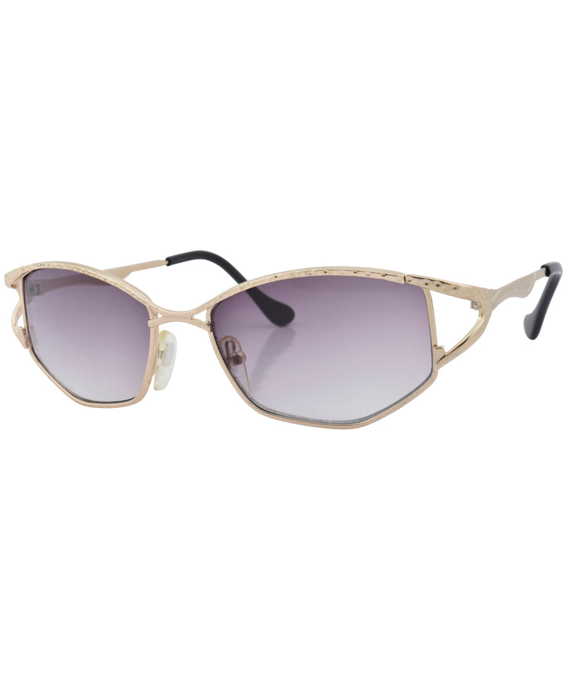 tangle gold sunglasses