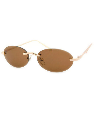 tassio brown sunglasses