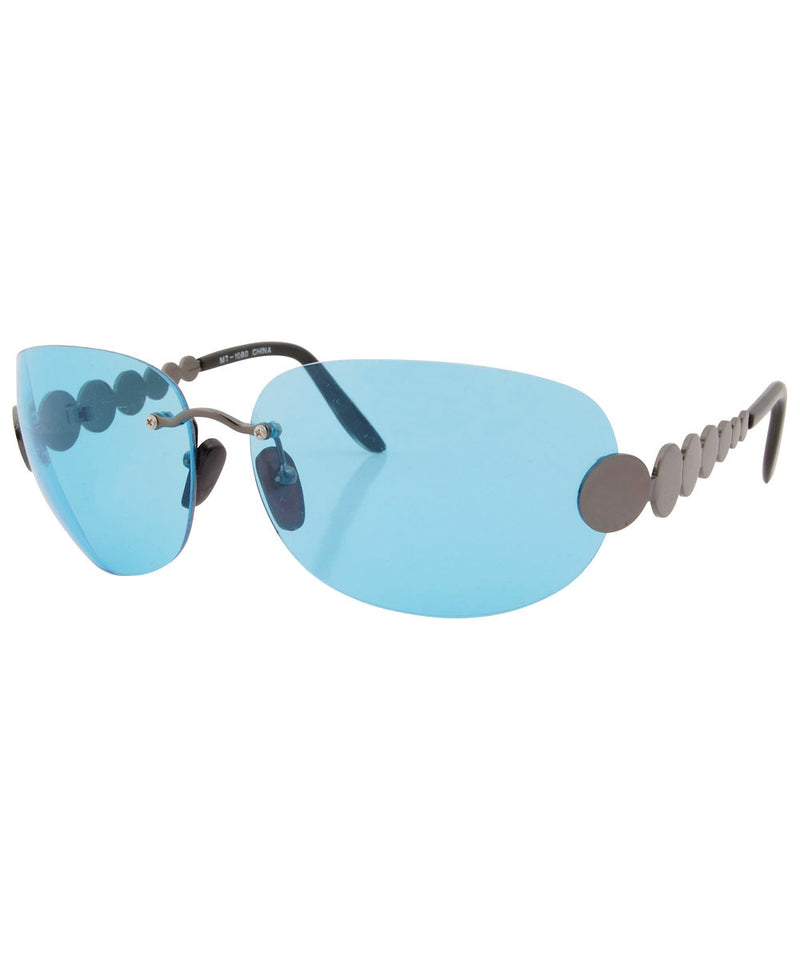 tasty blue sunglasses