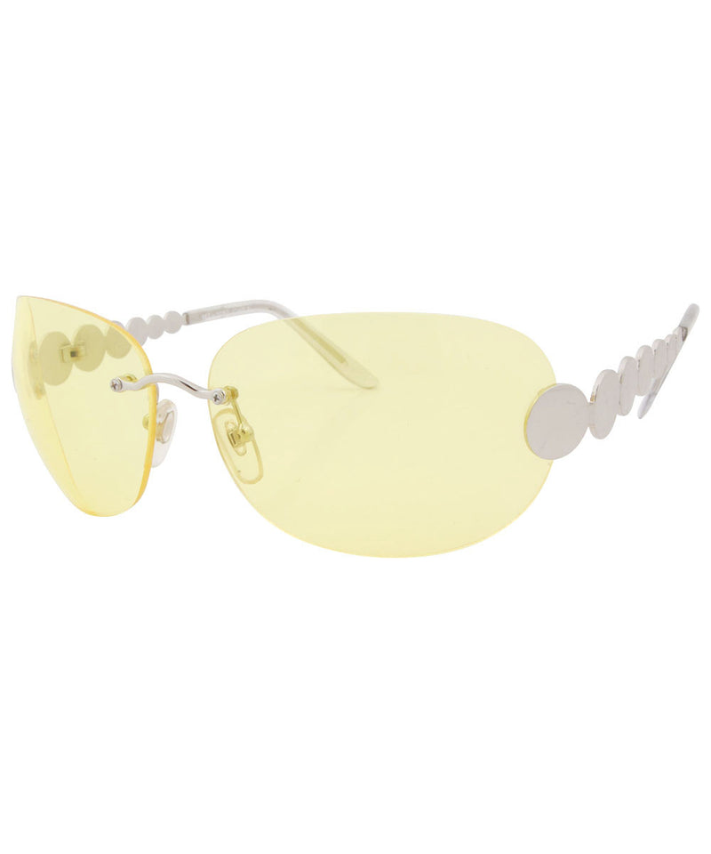 tasty yellow sunglasses
