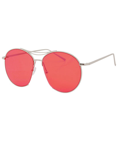 telegraph red sunglasses