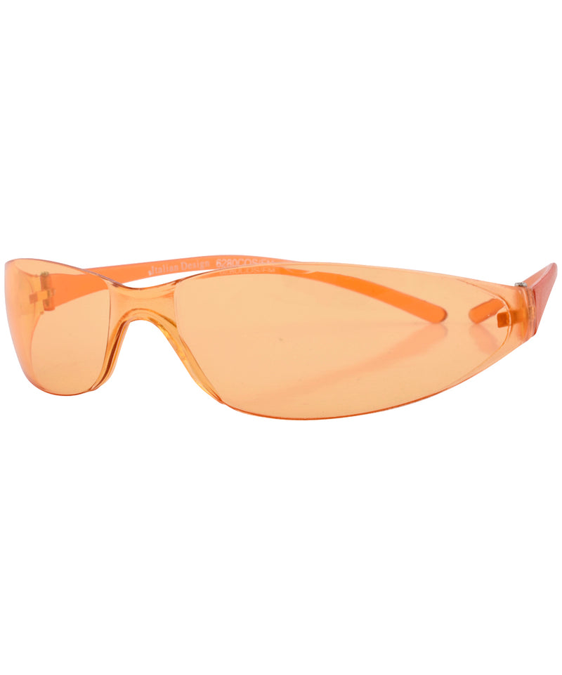 tension orange sunglasses