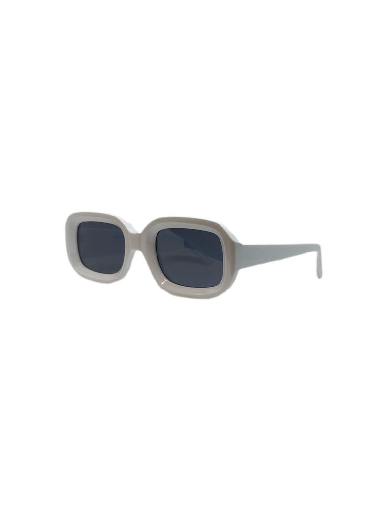 THE BOX  White Square Sunnies