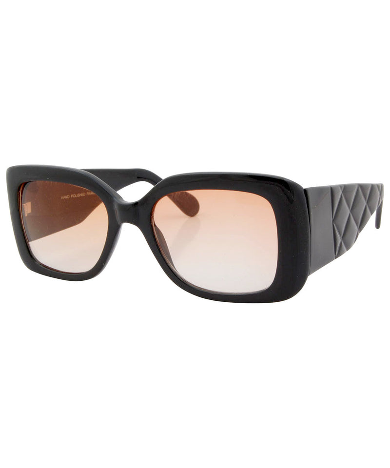 the ish black orange sunglasses