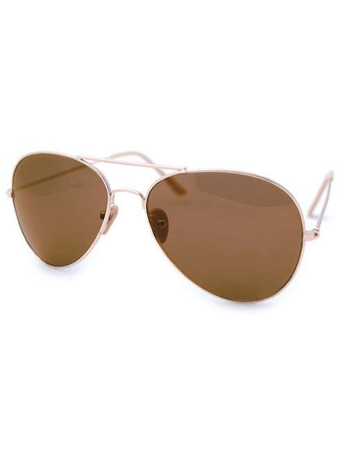 the law gold amber sunglasses