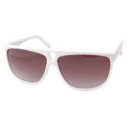 thriller white sunglasses