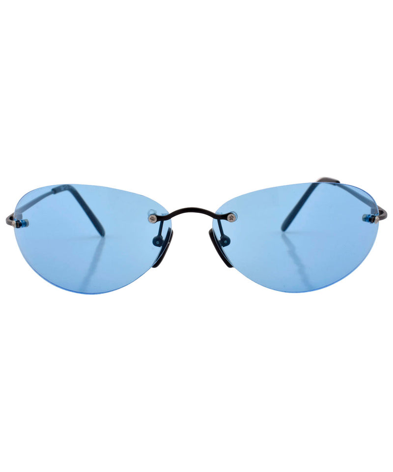 tickle blue sunglasses