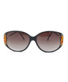 tigre black calico sunglasses