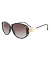 tigre black sunglasses