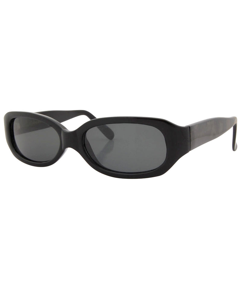 timepiece black sunglasses