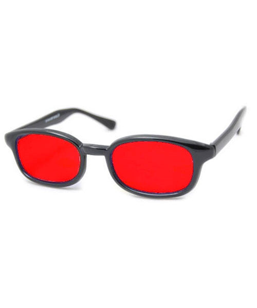 anarchy red sunglasses