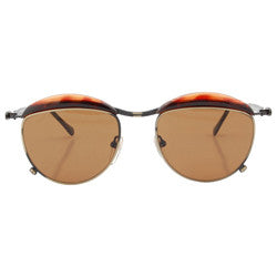 today tortoise brass sunglasses