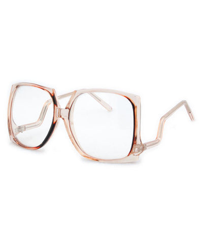 toots brandy clear sunglasses