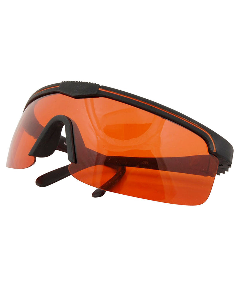 tracer black orange sunglasses