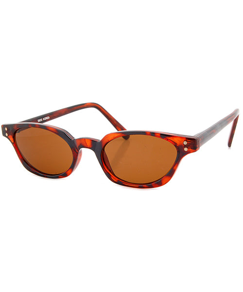 trains tortoise sunglasses