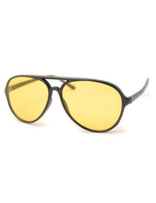 trig black sunglasses