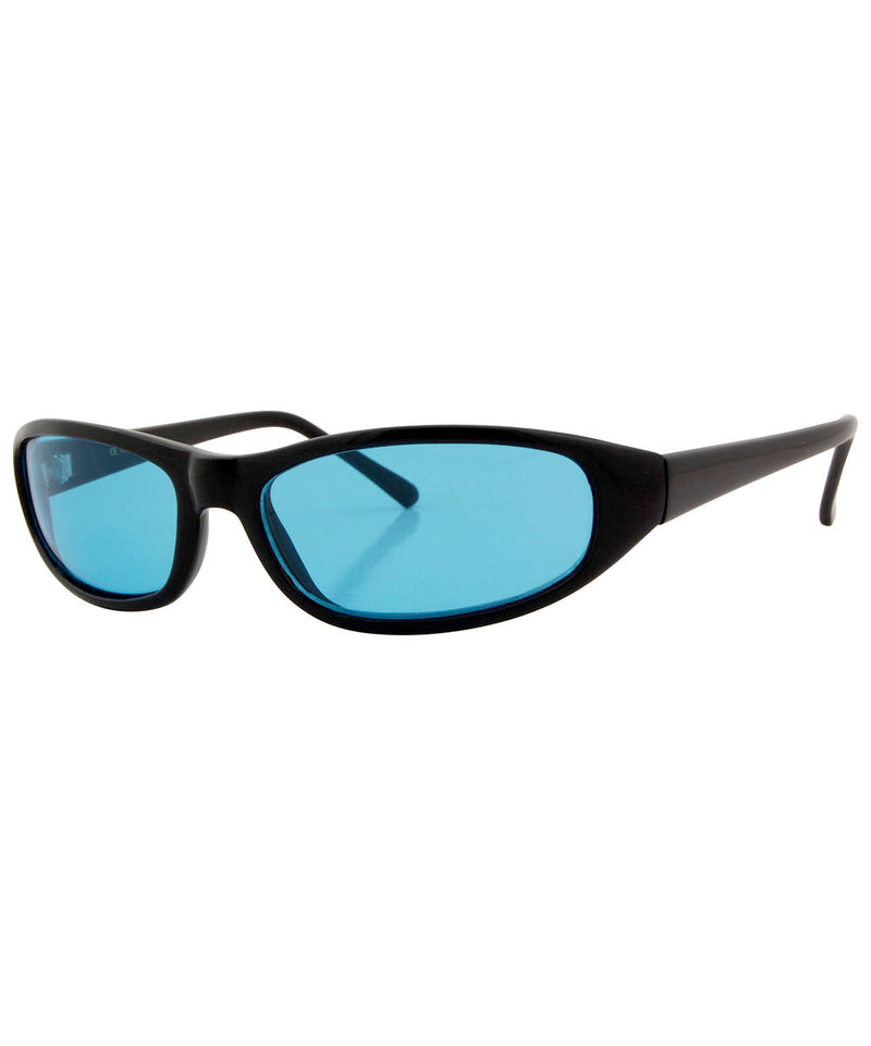 trogs black blue sunglasses
