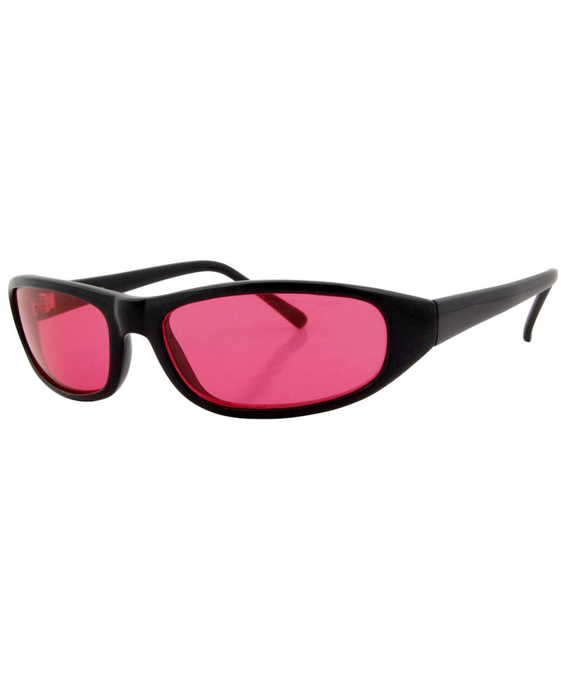 trogs black pink sunglasses