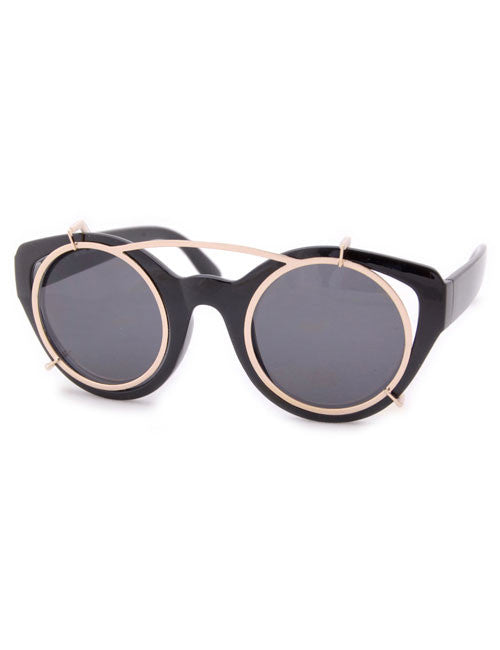 trolley black sunglasses
