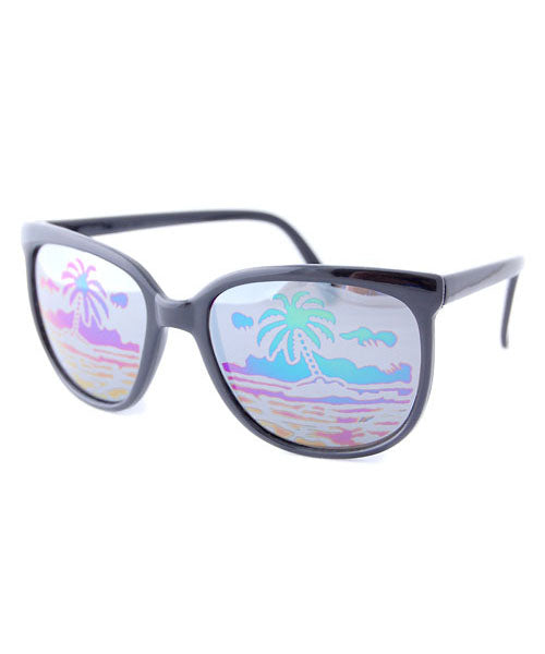 paradise black sunglasses