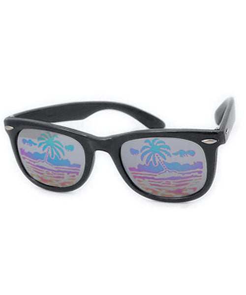 tropicana black sunglasses