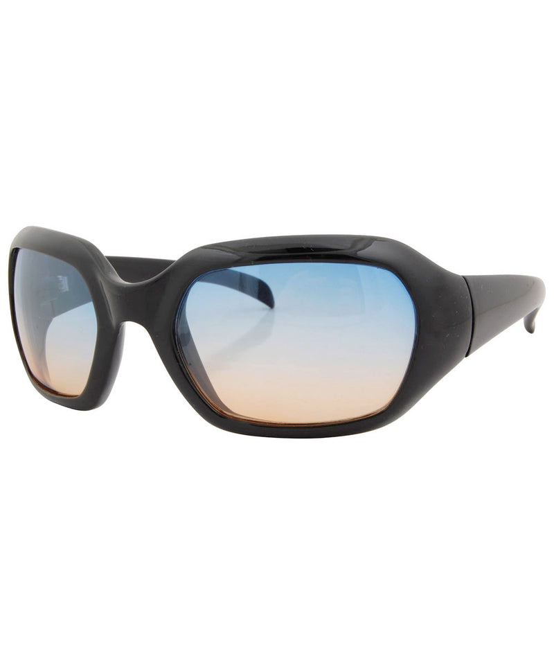 tryk black blue orange sunglasses