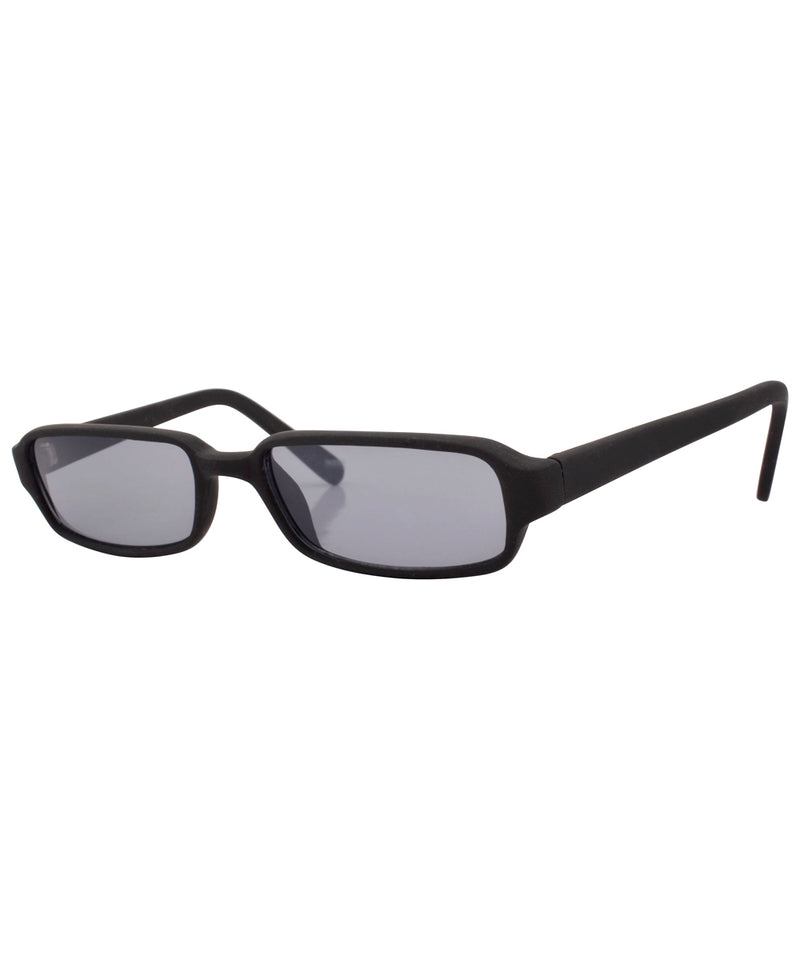 tubez matte black sunglasses