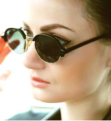 tunel black sunglasses
