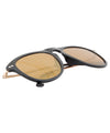 tupelo black brass sunglasses