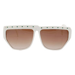 turnstile white sunglasses