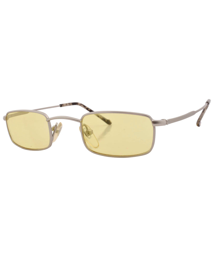 tweensy silver yellow sunglasses