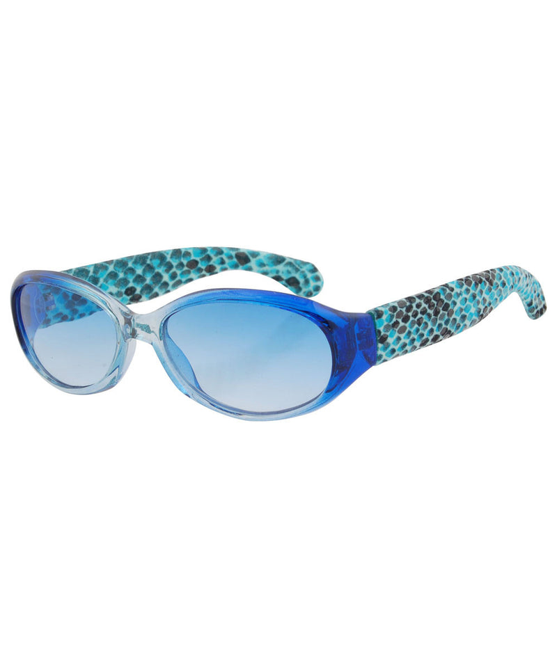 twins blue sunglasses