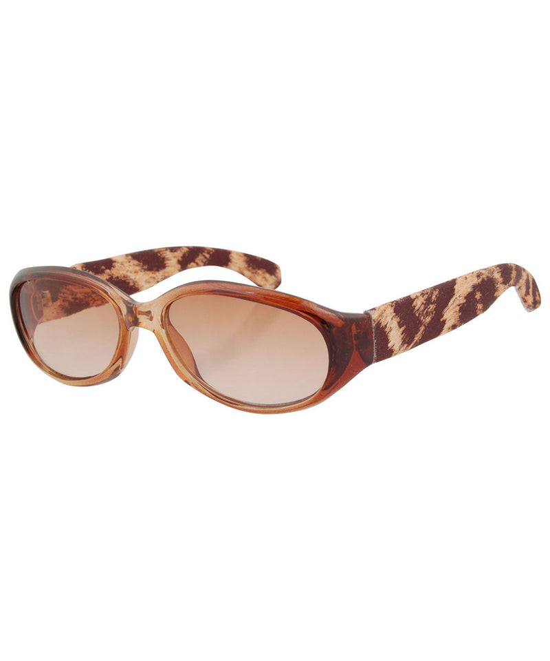 twins brown sunglasses