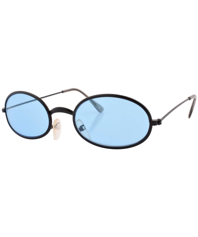 u turn black blue sunglasses