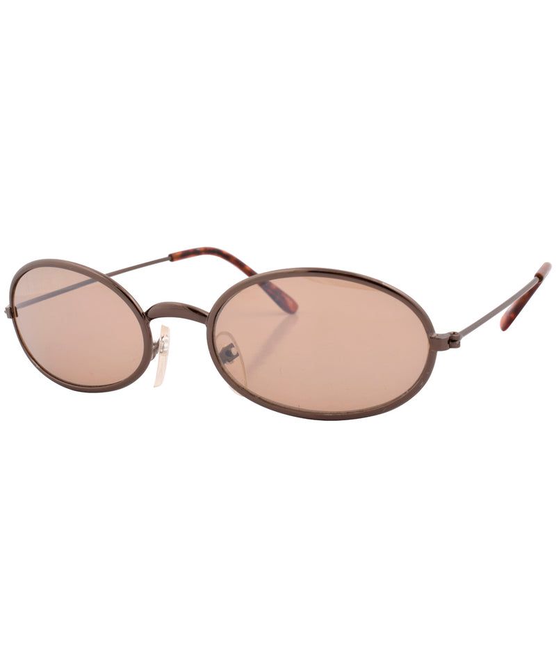 u turn copper brown sunglasses