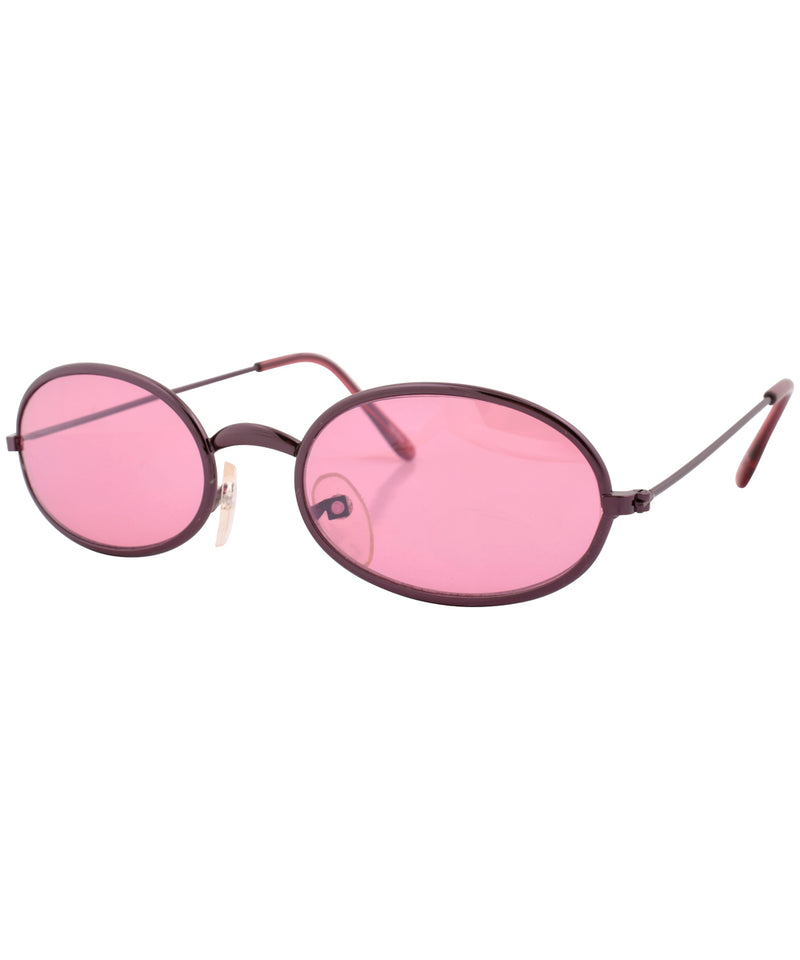 u turn pink sunglasses