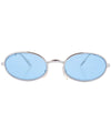 u turn silver blue sunglasses
