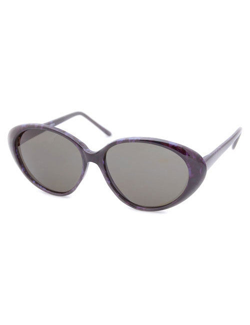 uptown black lilac sunglasses